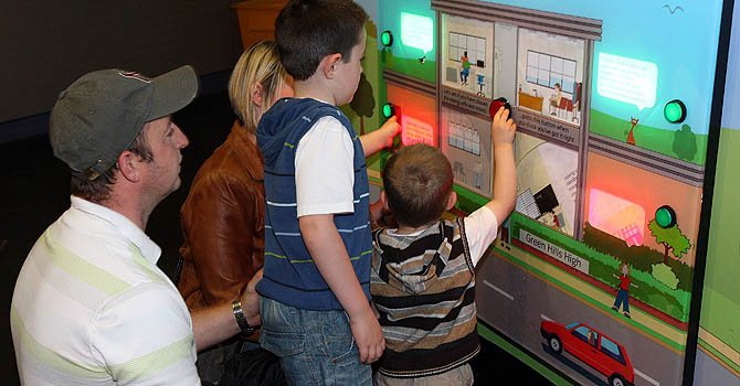 Interactive exhibits