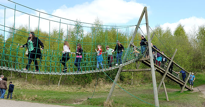 Try out the assault course challenge