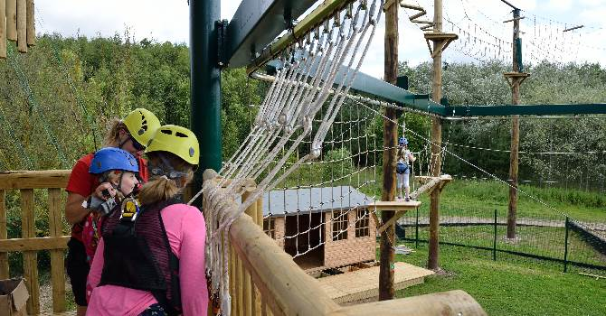 The High and Low Ropes Adventure