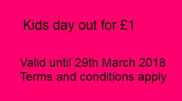 Kids day out for £1
